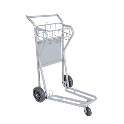 Carrinho armazém 3 rodas