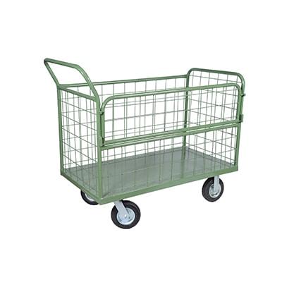 Carrinho carga 4 rodas