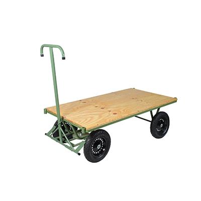 Carrinho Movimentação Plataforma 4 Rodas