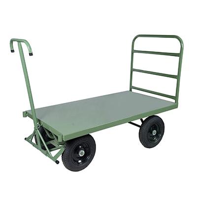 Carrinho plataforma 5 rodas