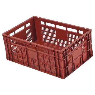Caixa Plástica Plástica Agrícola CP23 Fundo Fechado Isalog Carrinhos