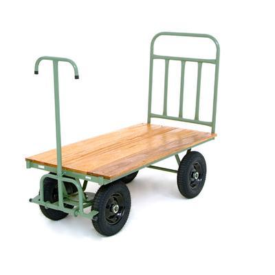 Carro plataforma 4 rodas